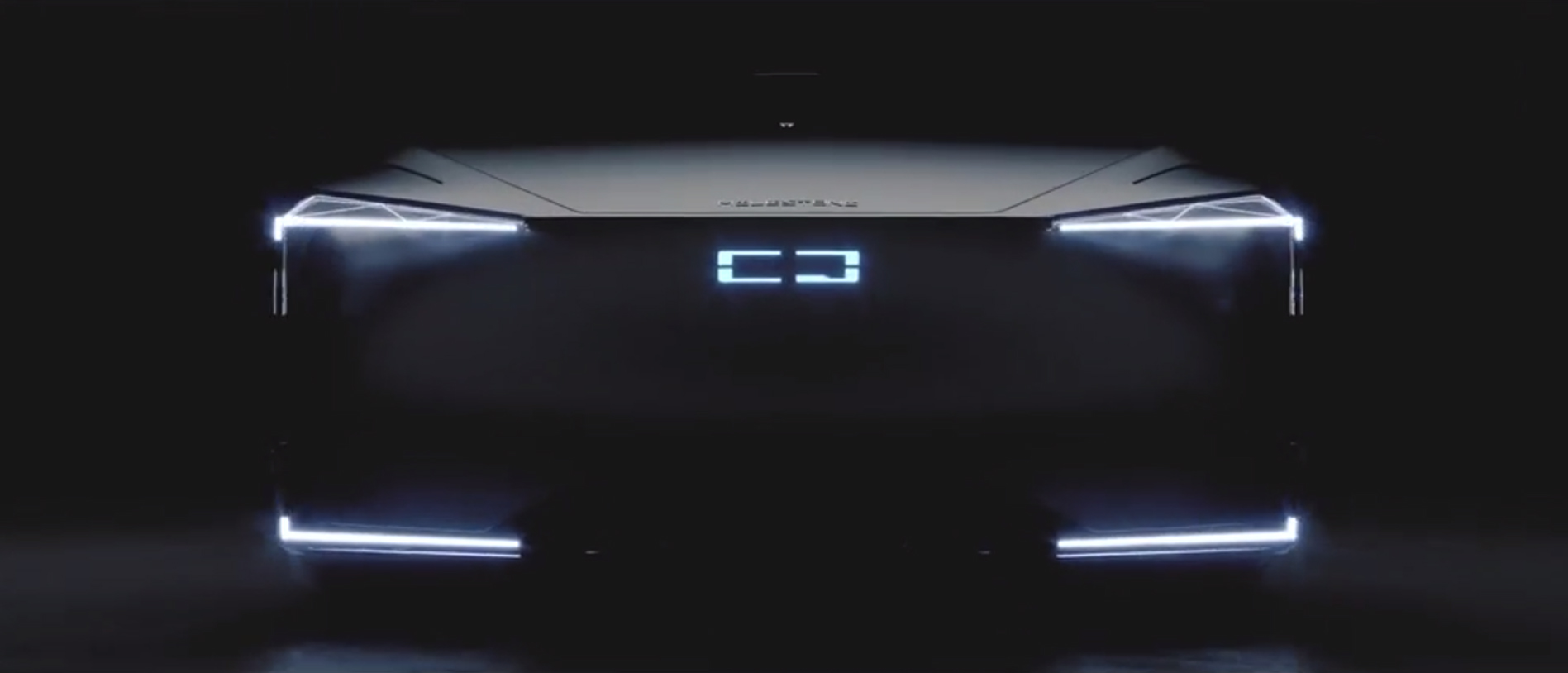 Z世代新车型 观致发布Milestone概念车预告图