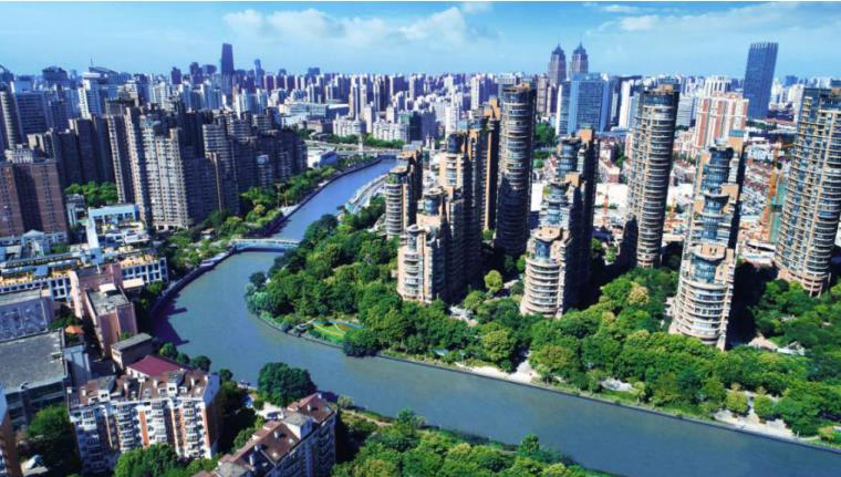 新湖明珠城实景图