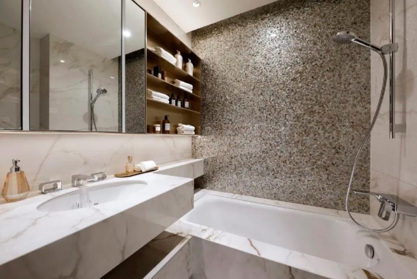 样板房卫浴间实景图