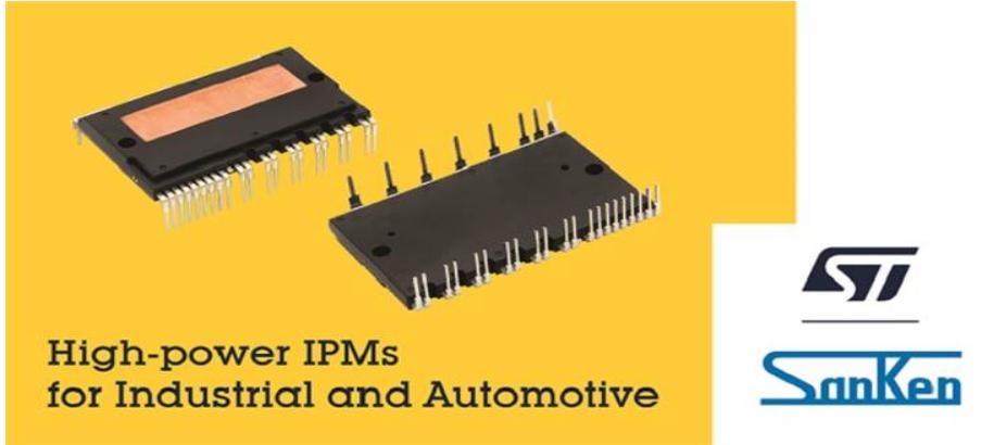 意法半导体和三垦电气联手开发智能电源模块 可用于汽车产品