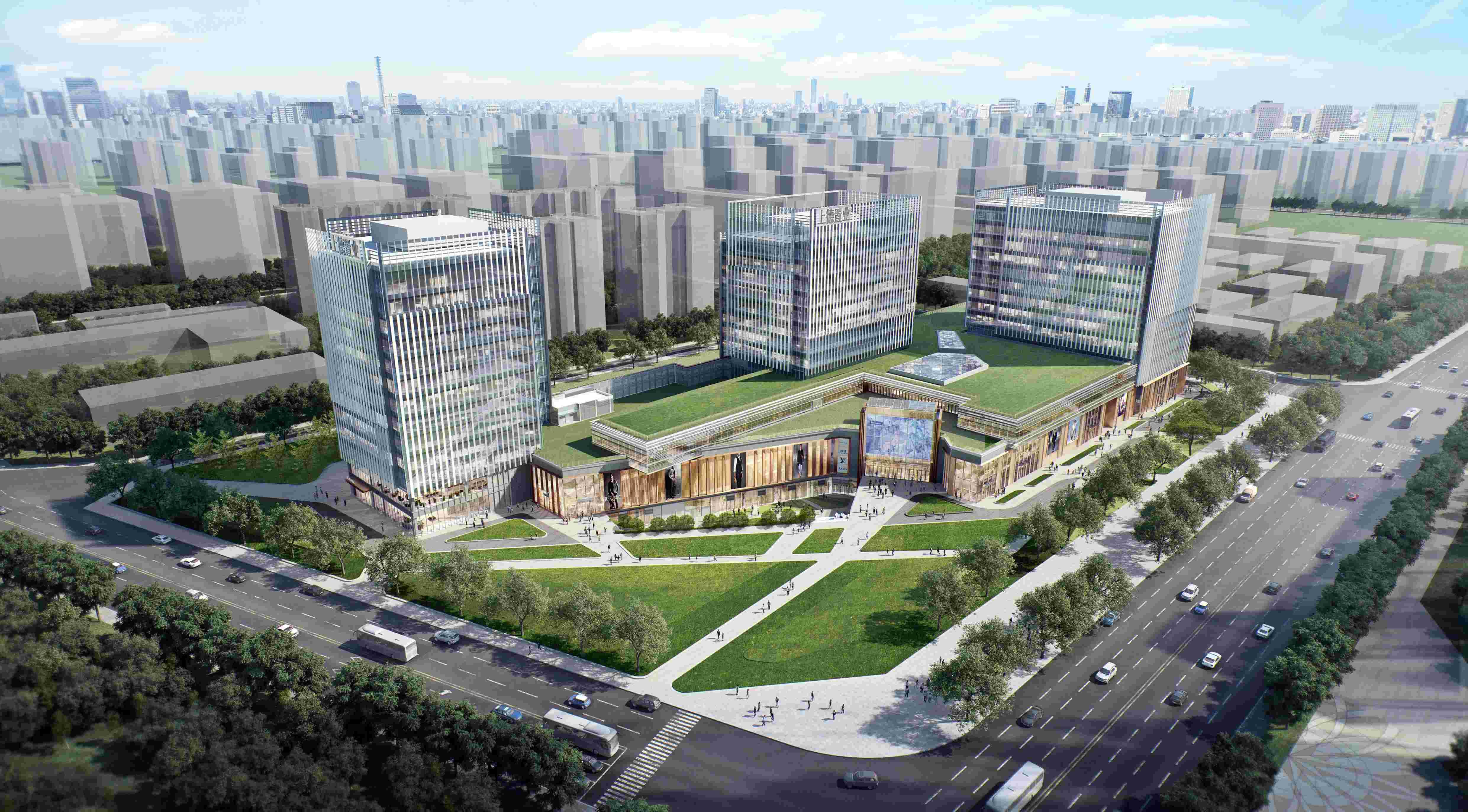 更具艺术性的多元商业综合体上德中心预计2021年正式开业