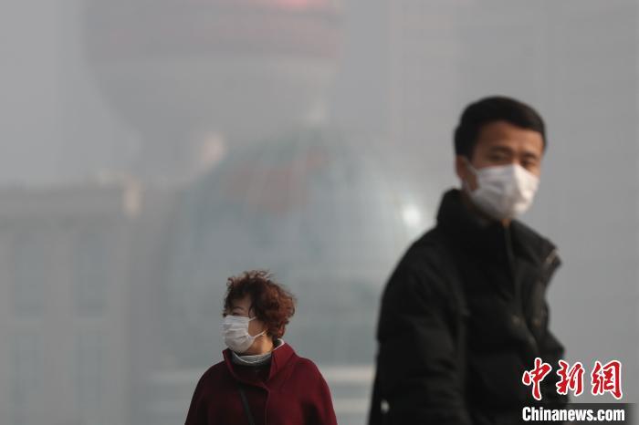 """上海连续两日遭遇""""雾霾锁城"""""""