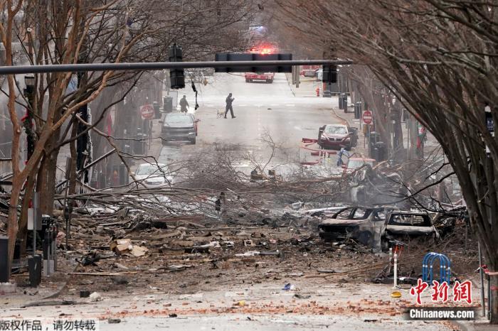 美国田纳西州爆炸3人受伤 总统特朗普已听取简报