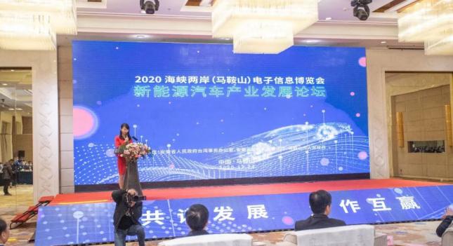 usdt钱包支付(caibao.it):2020海峡两岸(马鞍山)电子信息展览会 新能源汽车产业生长论坛盛大举行! 第2张