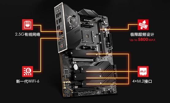 电银付使用教程(dianyinzhifu.com):比X570还厉害!微星MEG B550 Unify特技:3个PCIe 4.0x4 M.2接口 第3张