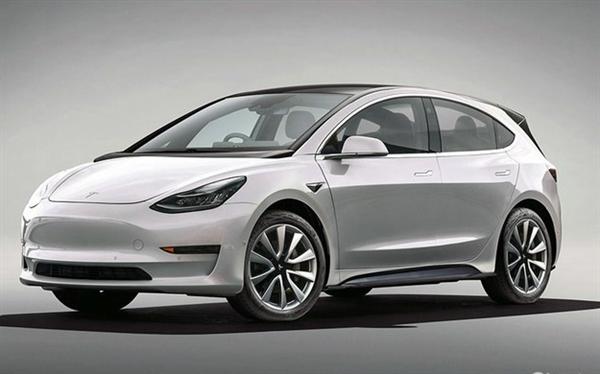 16万起?特斯拉全新电动车渲染图曝光 定位低于Model 3