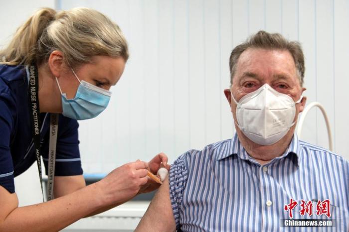 英国新冠疫苗接种超500万人