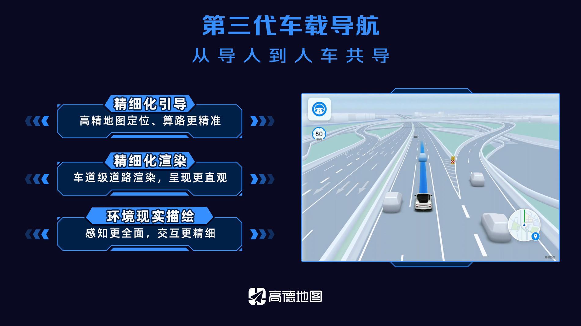 """高德地图发布第三代车载导航,从""""导人""""到""""人车共导"""""""