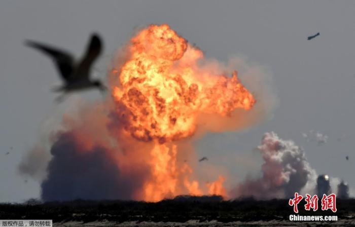 "SpaceX""星舟""SN9试飞时爆炸"