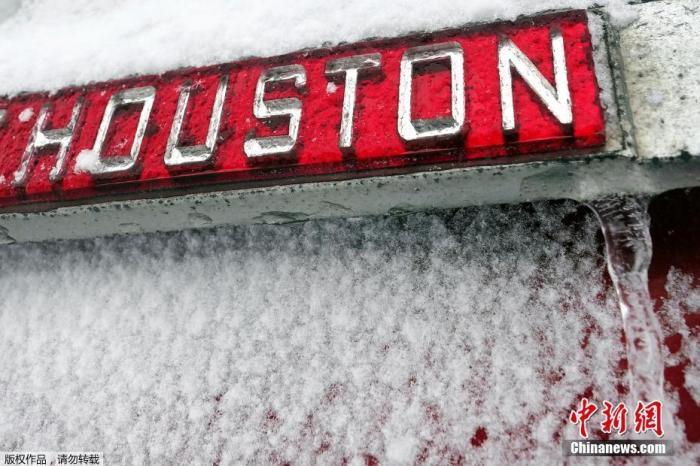 """持续""""冰封""""!美得州陷停水断电 新一轮暴雪又来袭"""