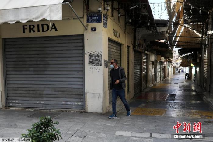 希腊新增确诊1424例 专家警告变异病毒已在社区传播