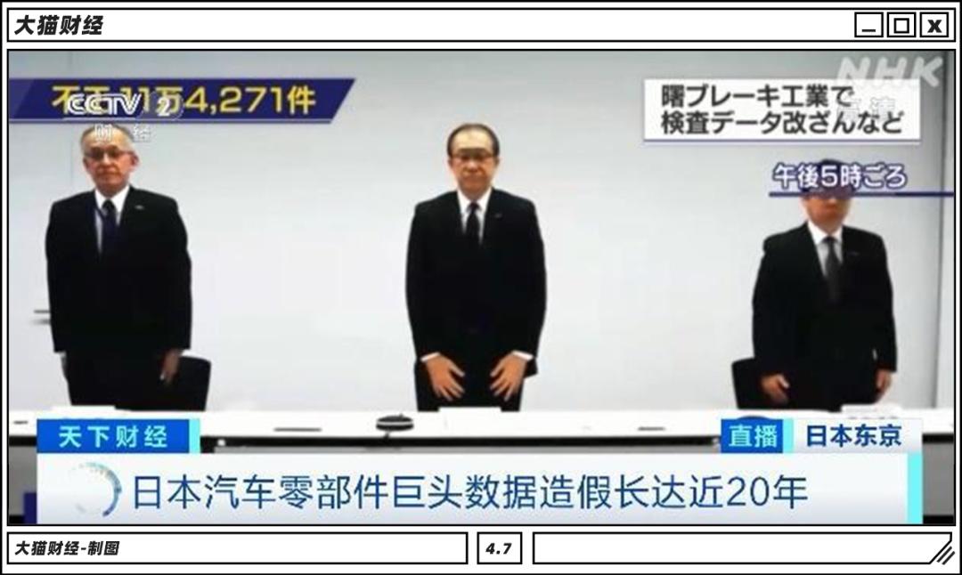 系统性造假几十年?日本制造的神话,破了……