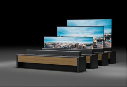 全球首台卷曲屏激光电视将亮相AWE,首次在国内展出