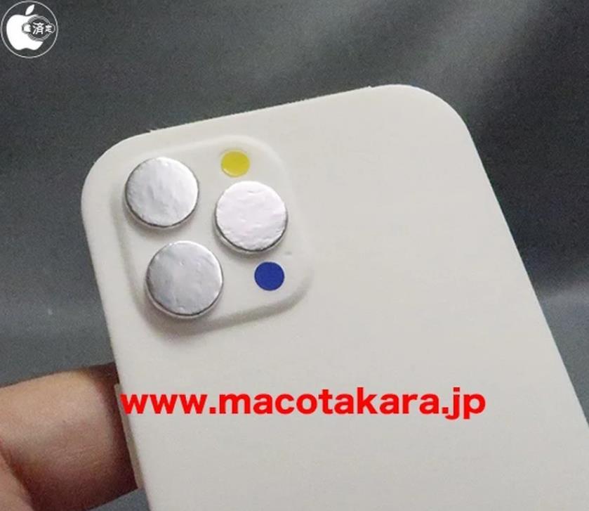 """iPhone 13模型机曝光:外观与现款基本一致、仅""""刘海""""变小"""