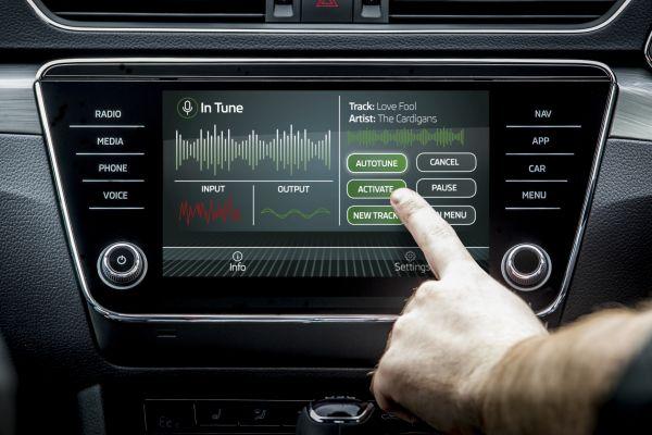 斯柯达推出全新车辆自动调音功能 唱歌不跑调