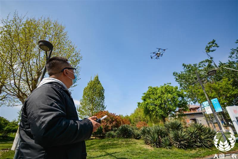 河北省邯郸市:智能化设备助力园林防虫害