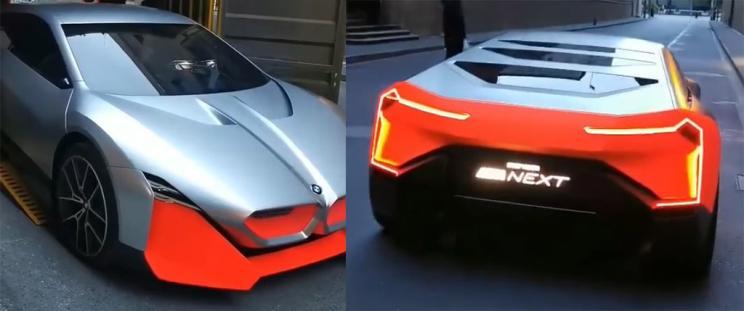 上海车展探馆:宝马Vision M NEXT概念车