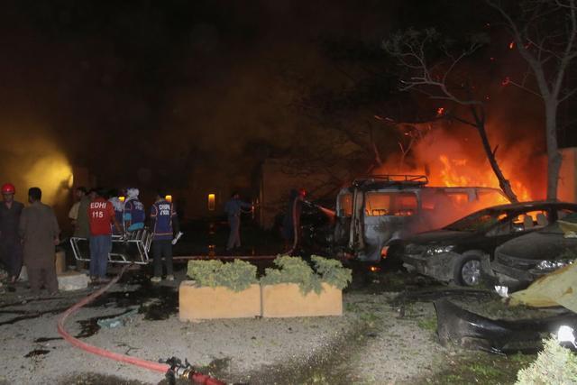 中国驻巴大使入住酒店发生爆炸:由装满炸药的汽车引爆