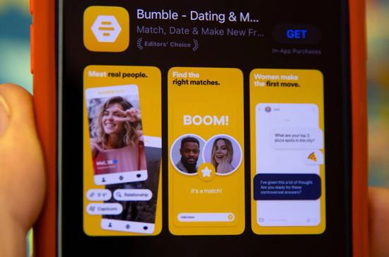 美国约会应用Bumble一季度营收超预期用户数量增长三成