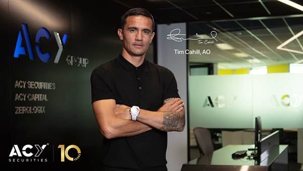ACY稀万证券宣布延长与澳洲足球传奇Tim Cahill的合作关系