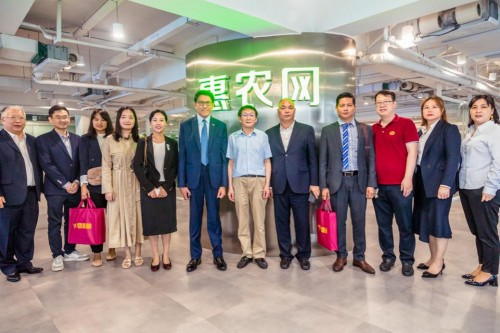 共话农业产业发展?缅甸驻华大使苗丹佩到访惠农网