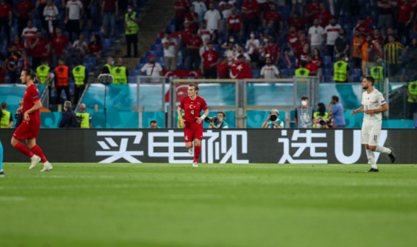 """外国人""""紧急求助"""":欧洲杯赛场上的汉字写的啥"""