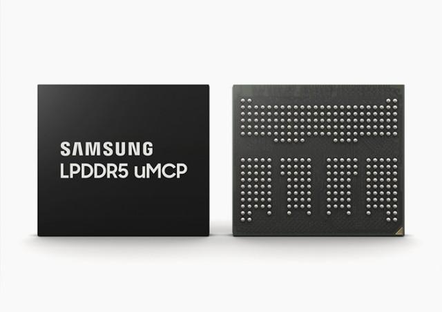 三星首款LPDDR5 uMCP将量产并用于中高端智能手机