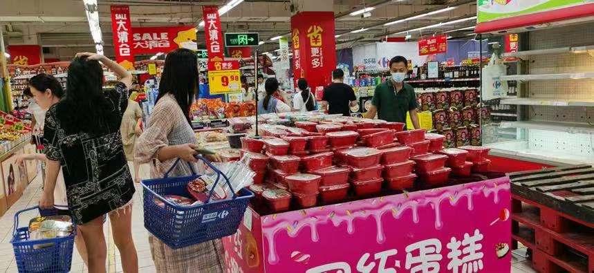 图注:苏宁易购家笑福郑州花园店