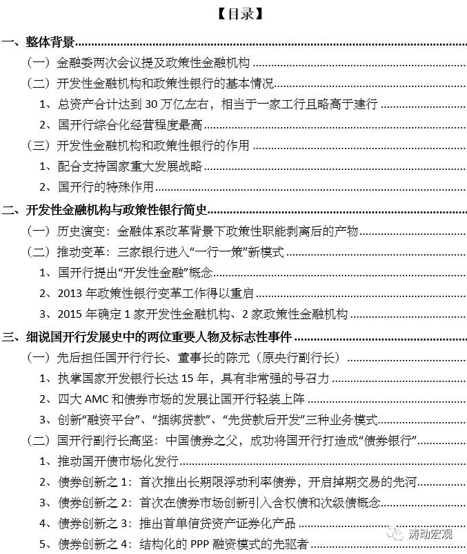 政策性银行手册(2021年版)