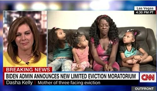 CNN:租房者被驱逐对拜登造成极大人道和政治压力 他决心紧急行动