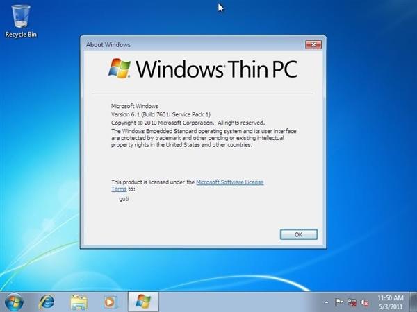 微软终结Windows Thin PC:轻量级瘦身版Win7