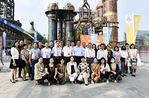 9月3日,中国银行业协会参加巡馆活动