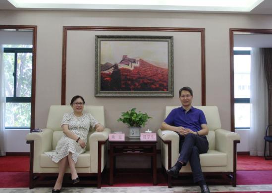 湖北银保监局刘学生、阙方平会见民生银行副行长陈琼一行