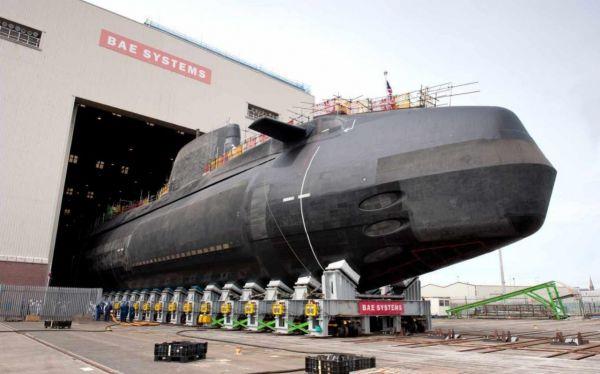 俄媒:英国斥资1.7亿英镑打造新一代攻击型核潜艇