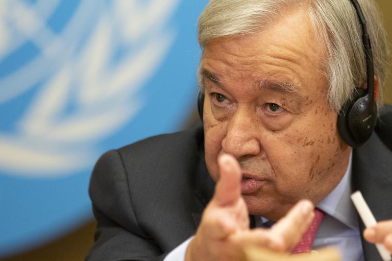 """联合国秘书长警告美中避免""""新冷战"""",白宫回应宣称:与中国是竞争而非冲突"""