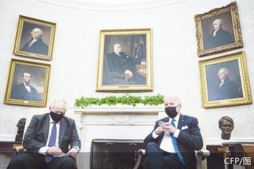 英美首脑会晤 讨论阿富汗等地区问题