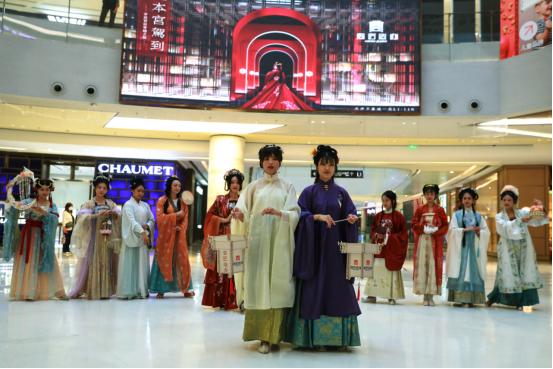 宫匠造办天津万象城首次开业,用文化赋能生活